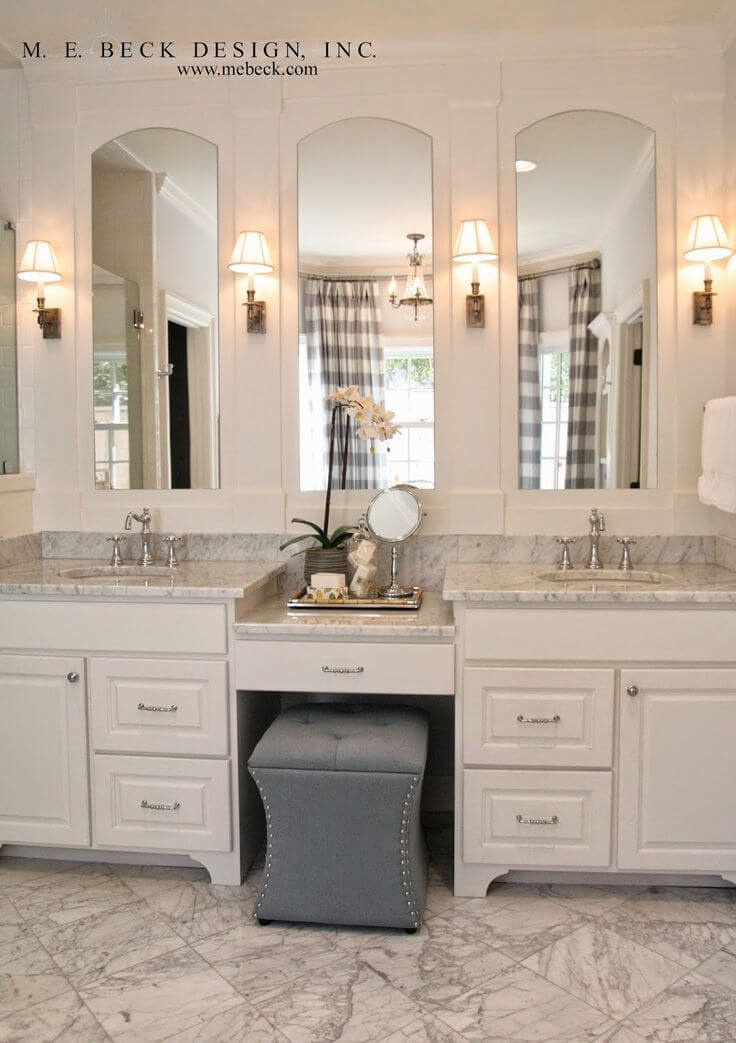 Country Club Elegance Bathroom