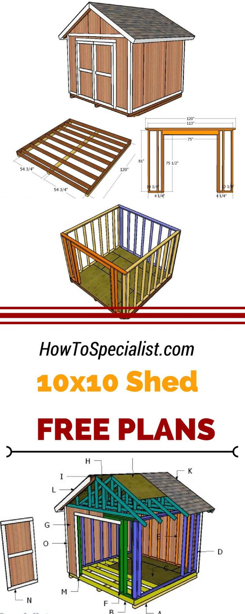 Unique 10x10 Small Storage Shed Projects
