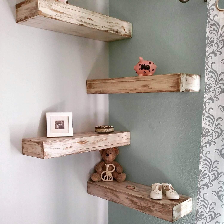 Hundred Acre Wooden Board Shelves