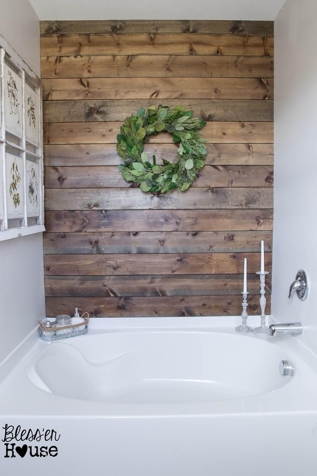 Big Sur Spa DIY Pallet Wall Paneling