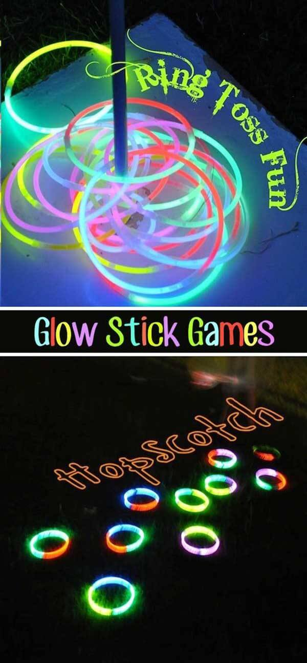 Glowstick Game Night: Prizes for most Creative Use?