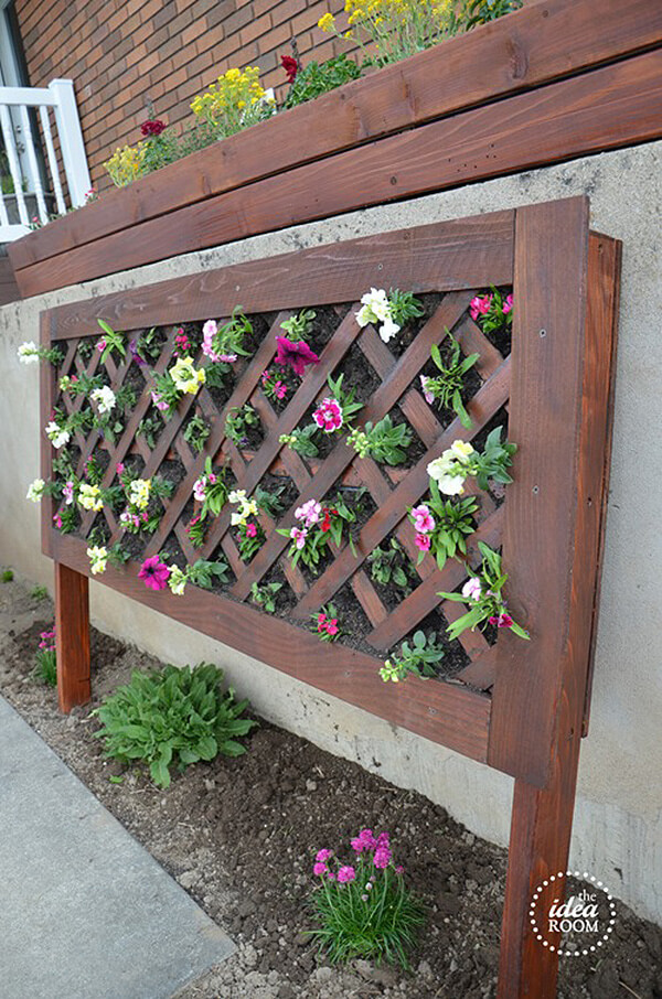 Vertical Planting Wall for Small Yards