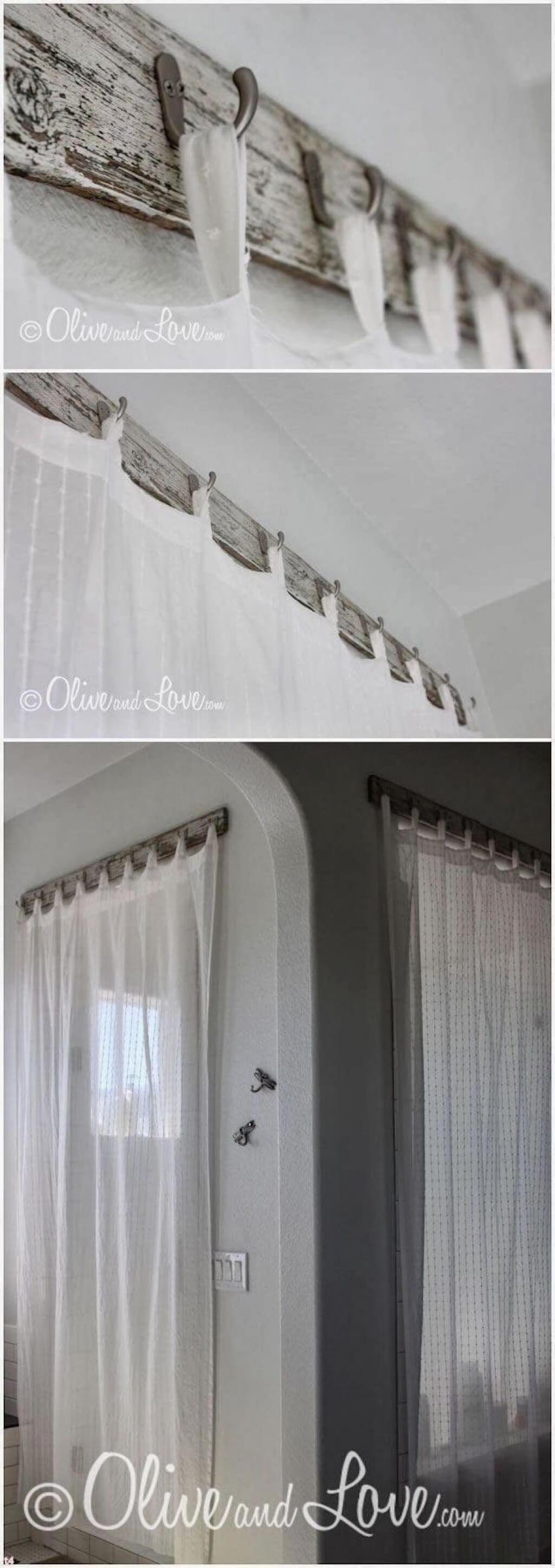 Hook, Line, And Sinker Curtain Beams