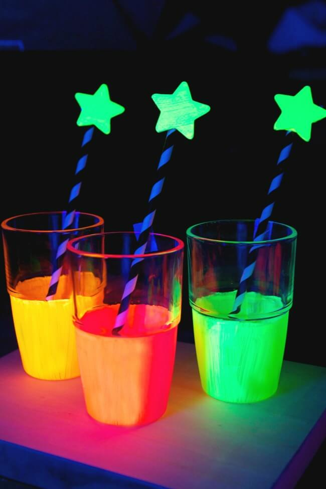 Glowing Beverages are an All-ages Hit