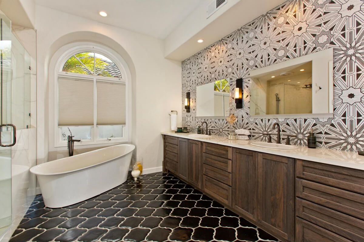 Eclectic and Classy Bathroom 32 Best Master