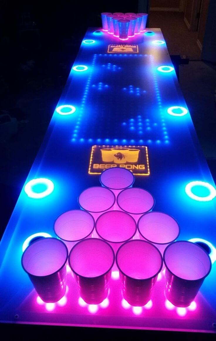 Level up the Beer Pong Challenge for the So-called Experts