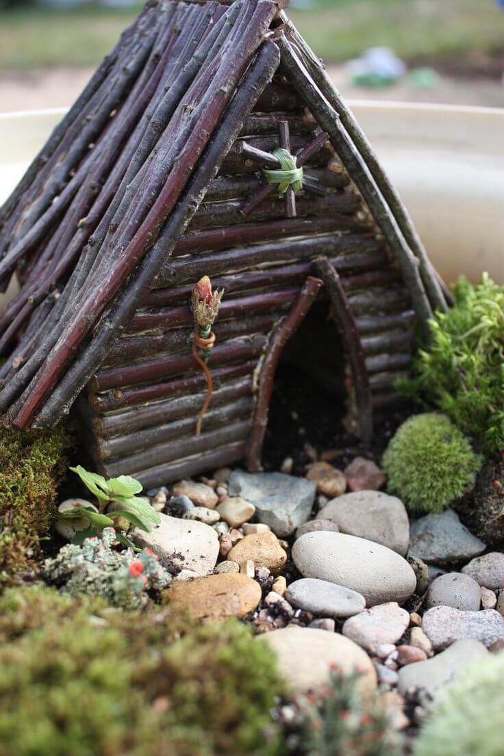 Hand Assembled Bespoke Fairy Lodge