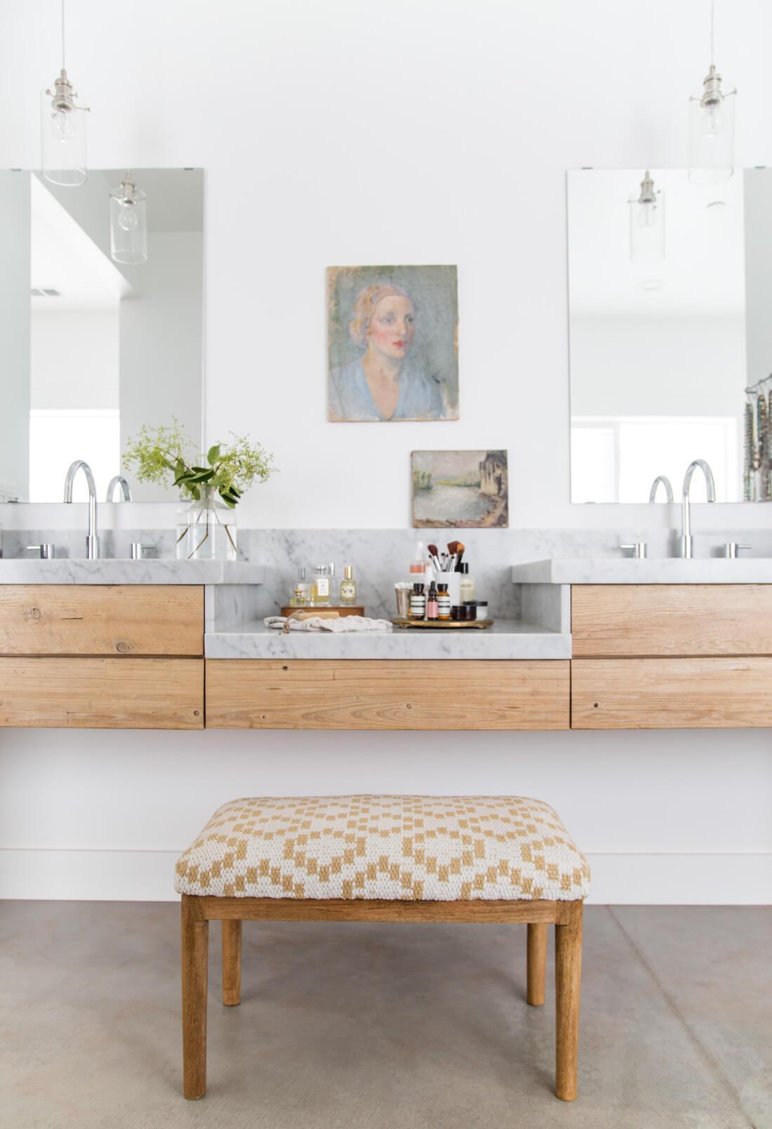 Modern Artist Inspired Bathroom