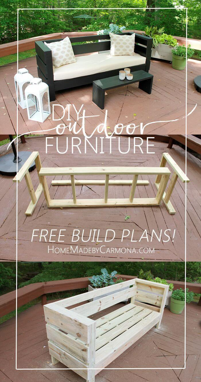 Easy to Make Outdoor Furniture