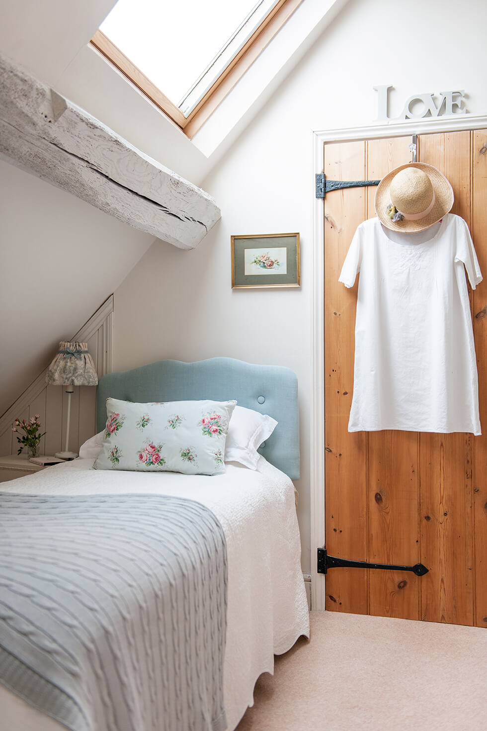 Very Narrow Bedroom Ideas Making the Most of an A-Frame Design