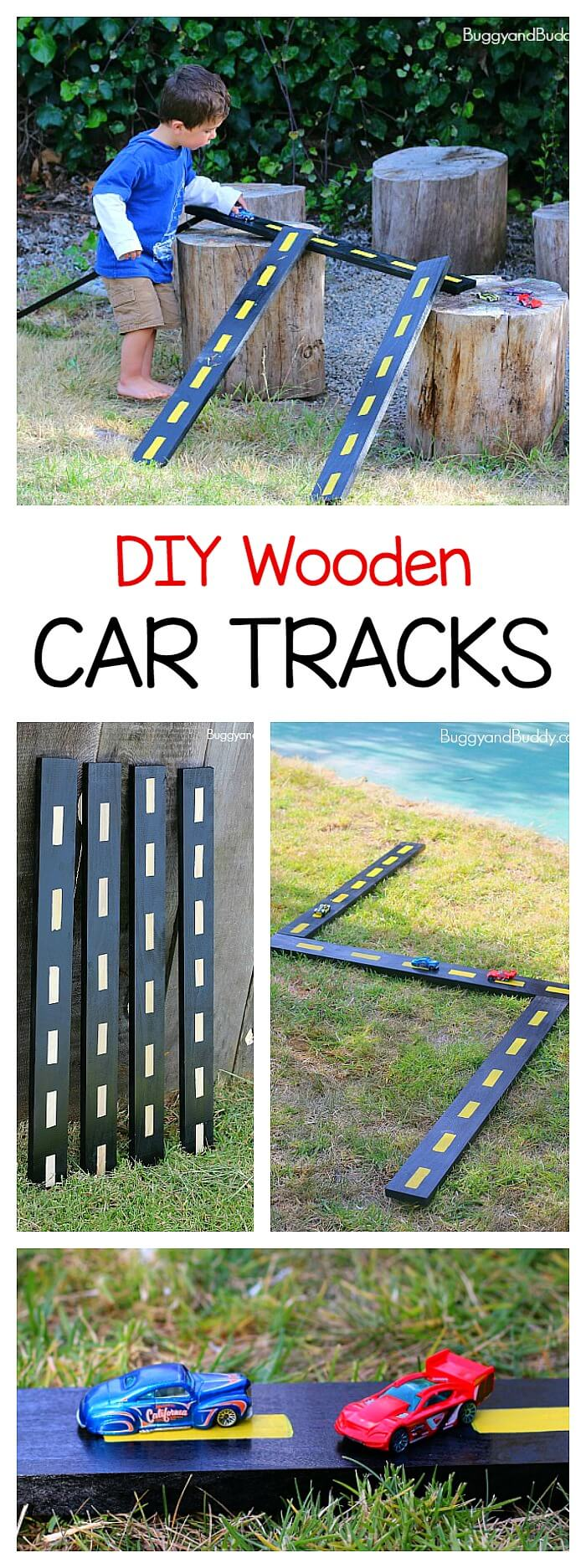 An Outdoor Race Track with Natural Obstacles