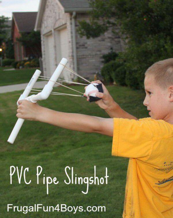 Kid-Friendly PVC Slingshot