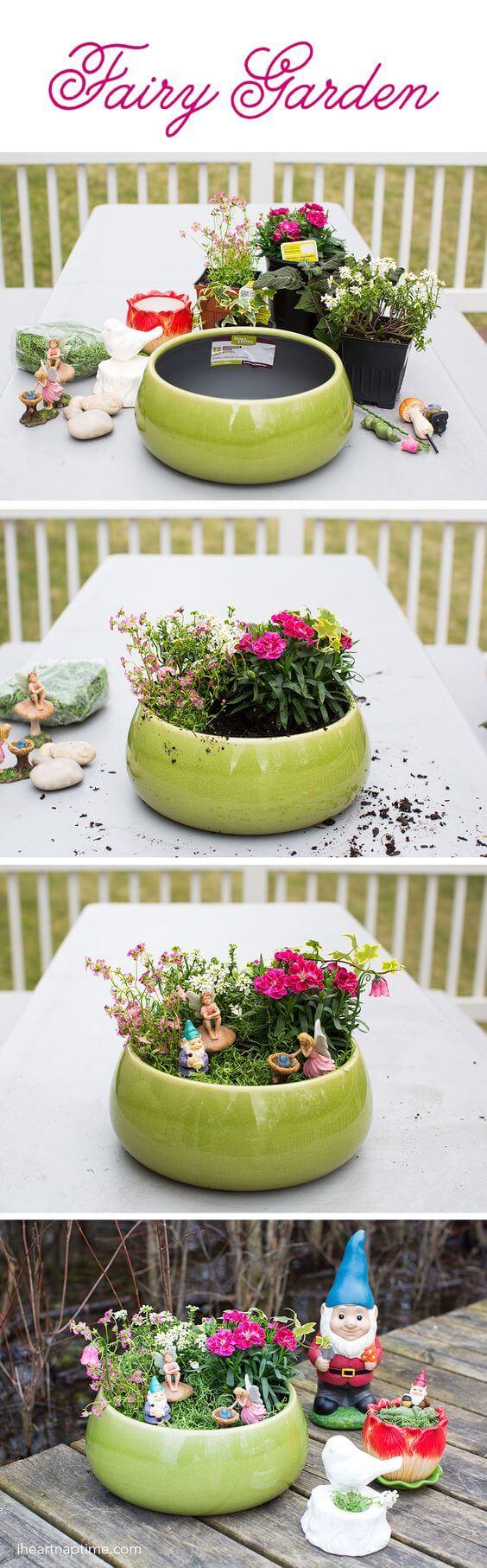 Midsummer Garden Party Planter