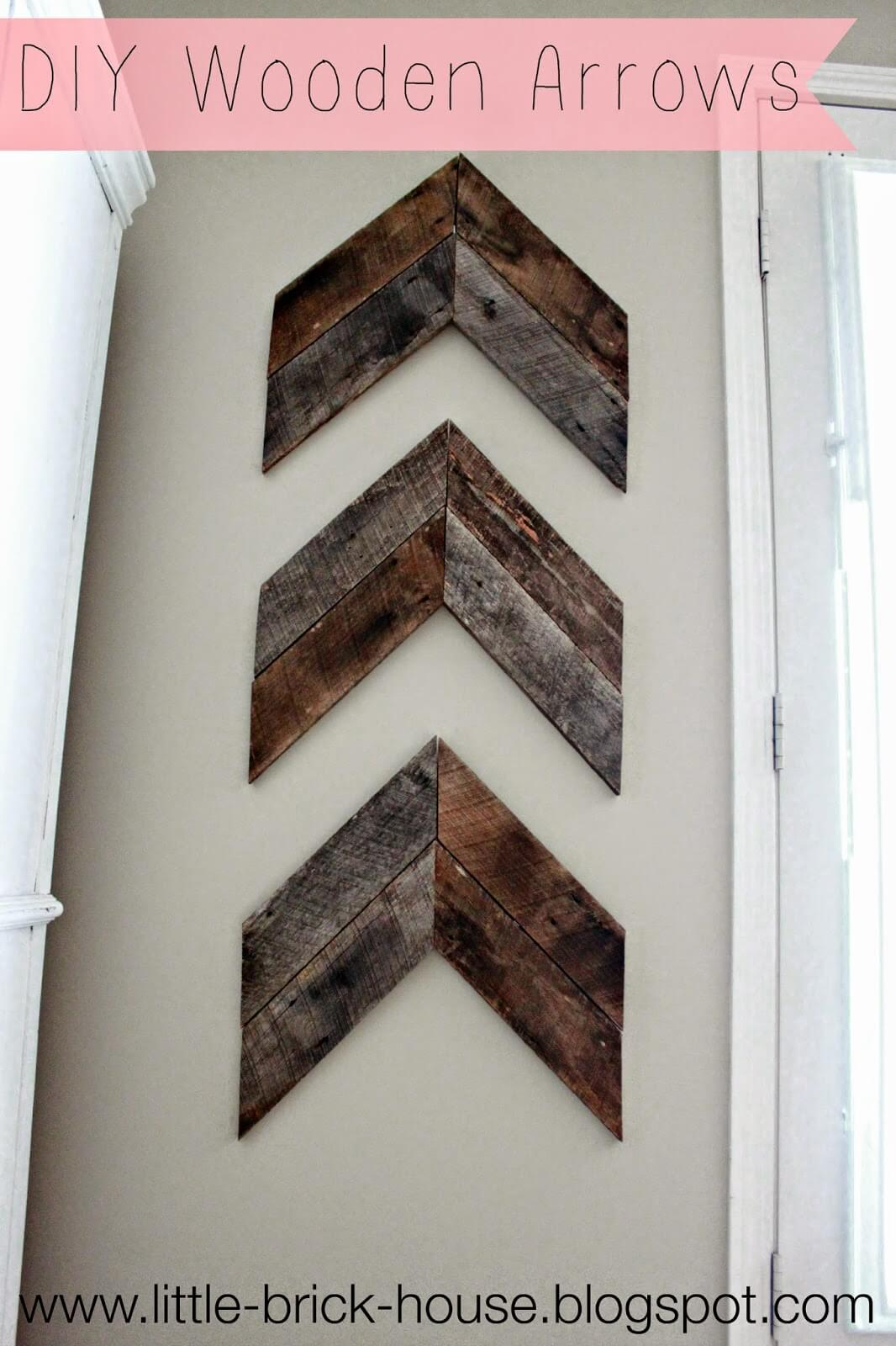 Huntsman's Arrows DIY Wall Decor