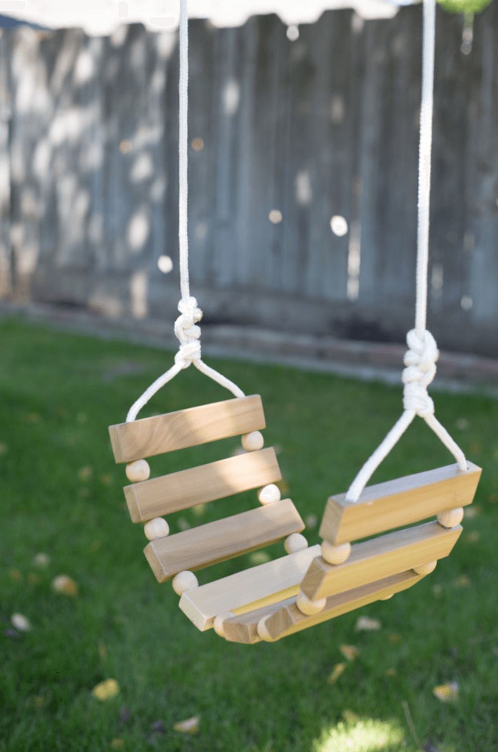 28. A Xylophone Style Swing For Little Ones