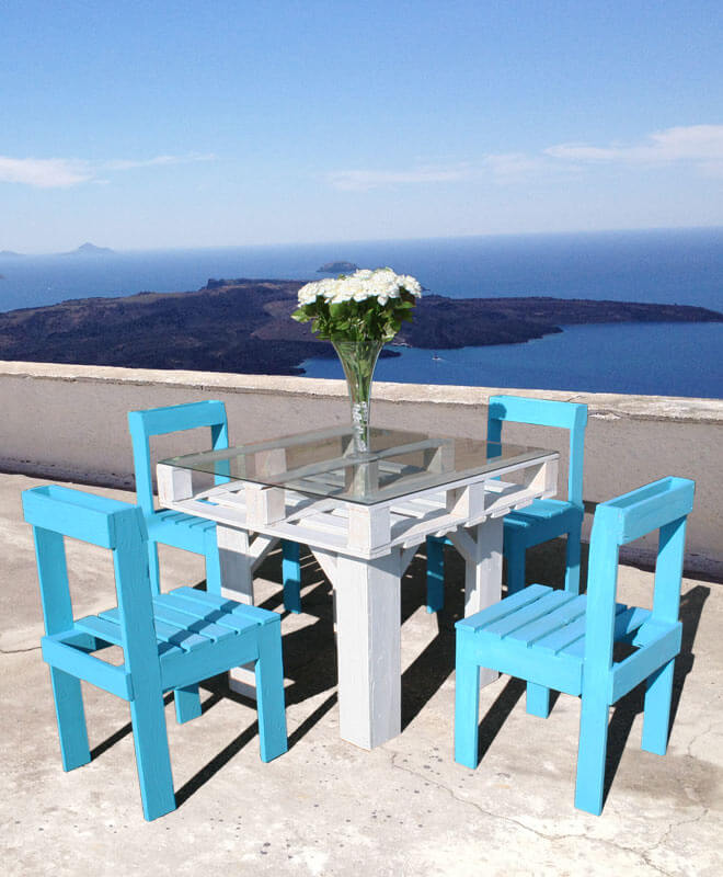 Ibiza Terrace Outdoor Dining Set