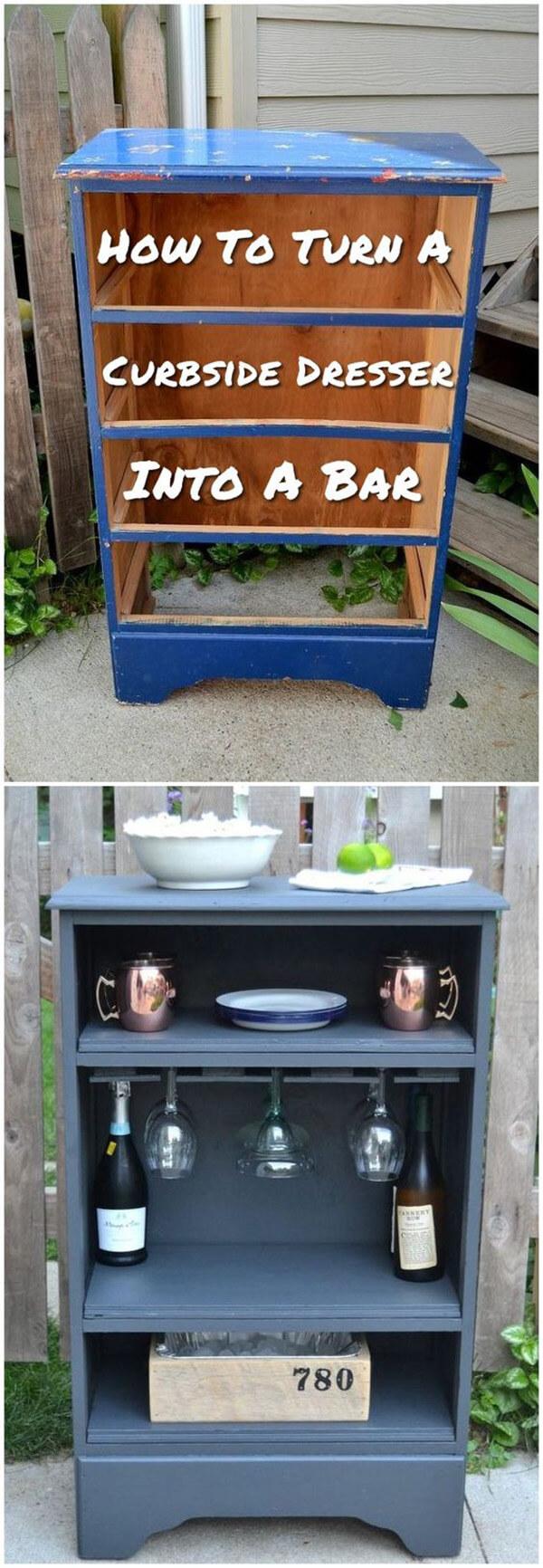 Recrafted Cabinet Mini Bar