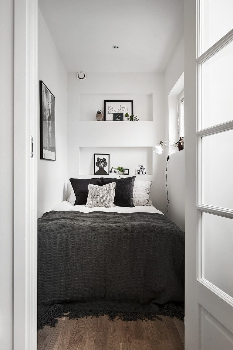 37 best small bedroom ideas and designs for 2019 13284 | 29 small bedroom designs and ideas homebnc