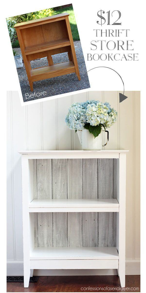 Thrift Store Bronte Rustic Bookcase