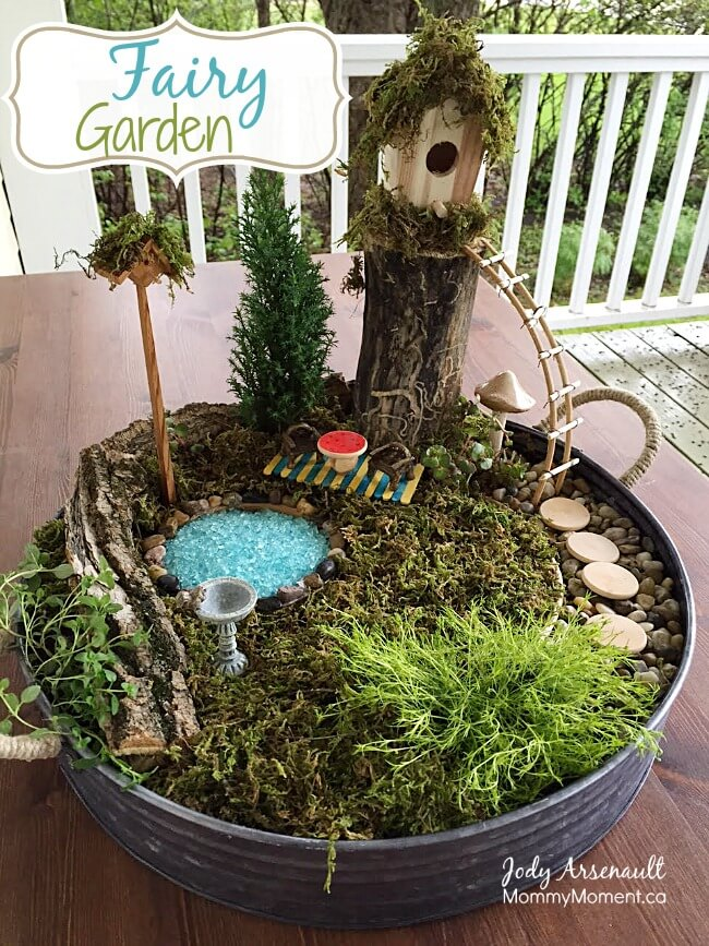 Secret Fairy Garden Planter
