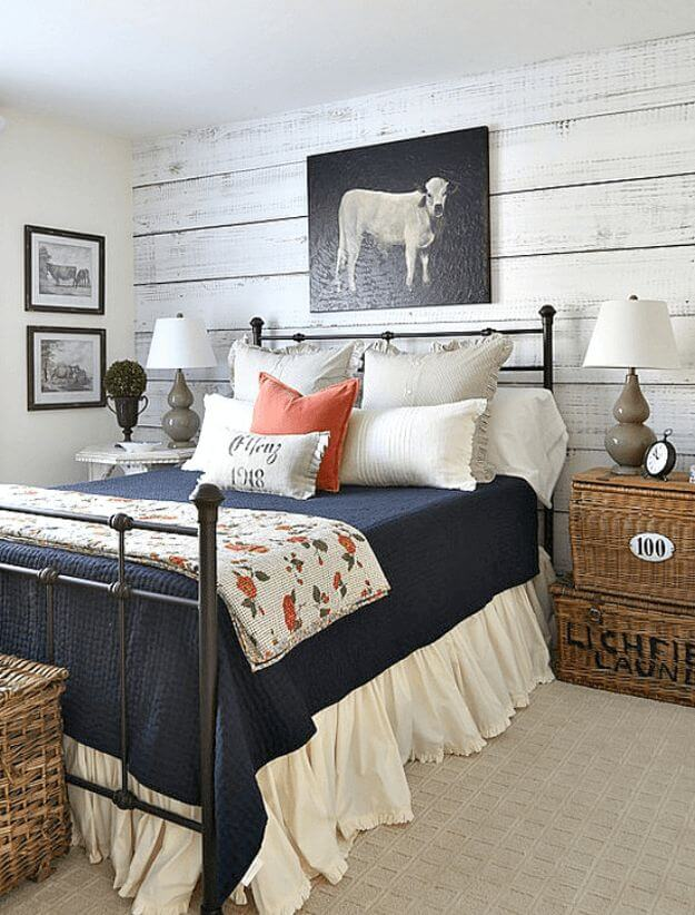 Decorating A Room Online: 39 Best Farmhouse Bedroom Design And Decor Ideas For 2019