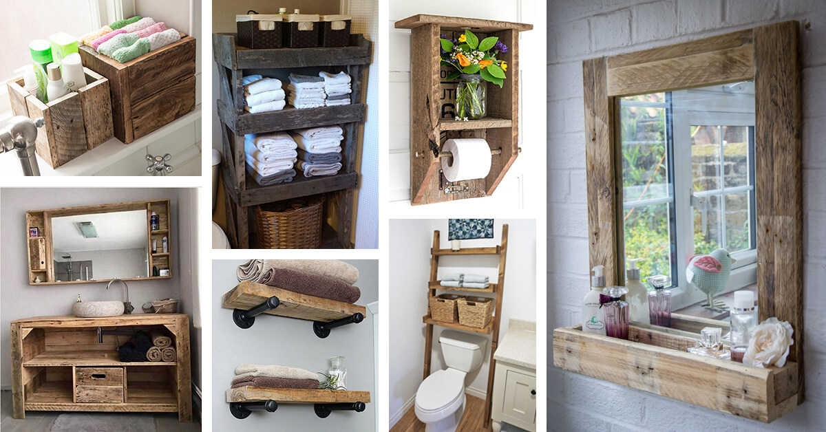 25 Best Bathroom Pallet Projects Ideas And Designs For 2020