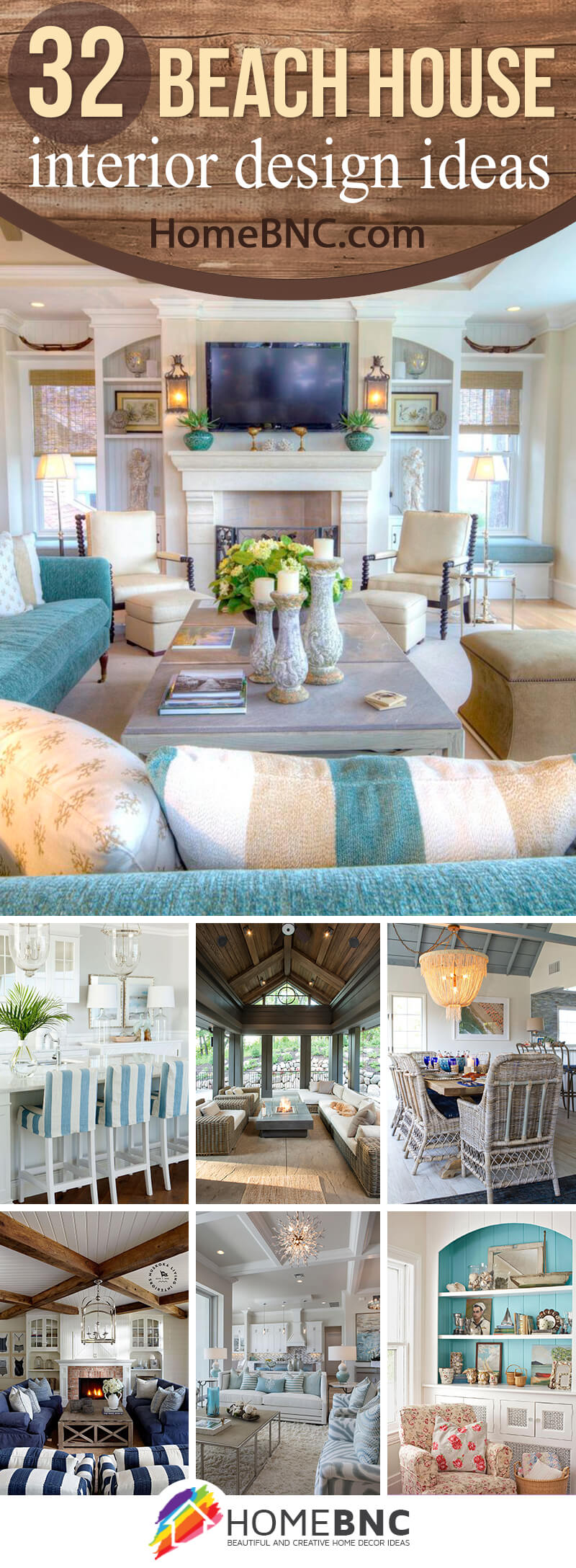 32 Adorable Beach House Interior Design Ideas To Brighten Your Décor