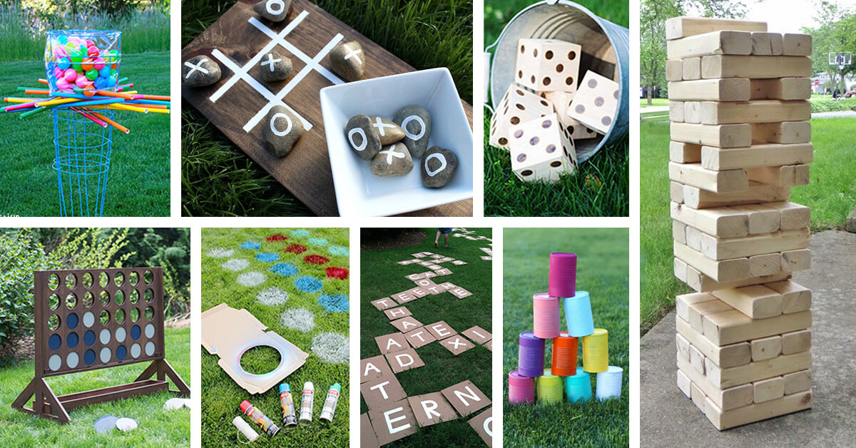 27 Best Diy Backyard Games Ideas And Designs For 2021