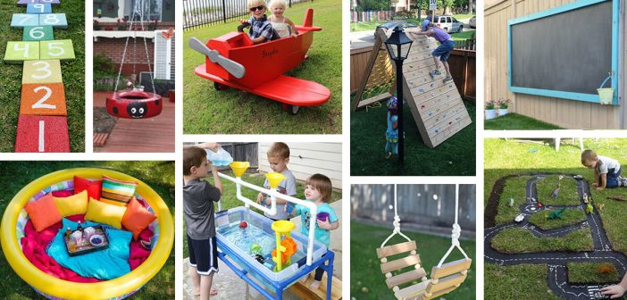 - 34 Best DIY Backyard Ideas And Designs For Kids In 2018