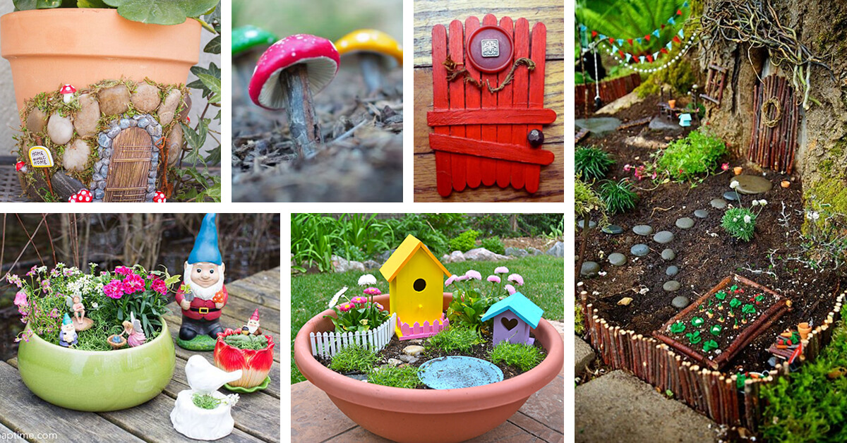 38 Best Diy Fairy Garden Accessories Ideas And Designs For 2019