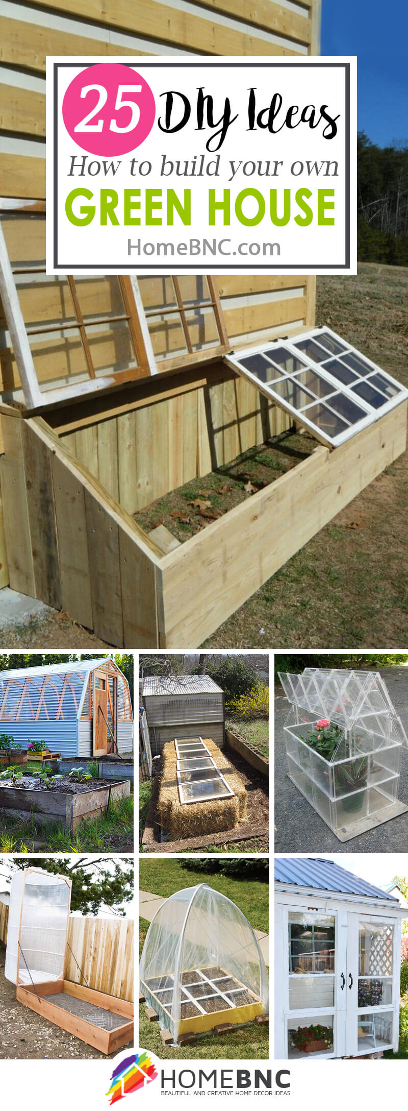 DIY Green House Projects