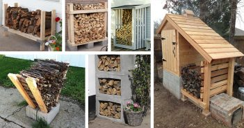 DIY Outdoor Firewood Rack Ideas