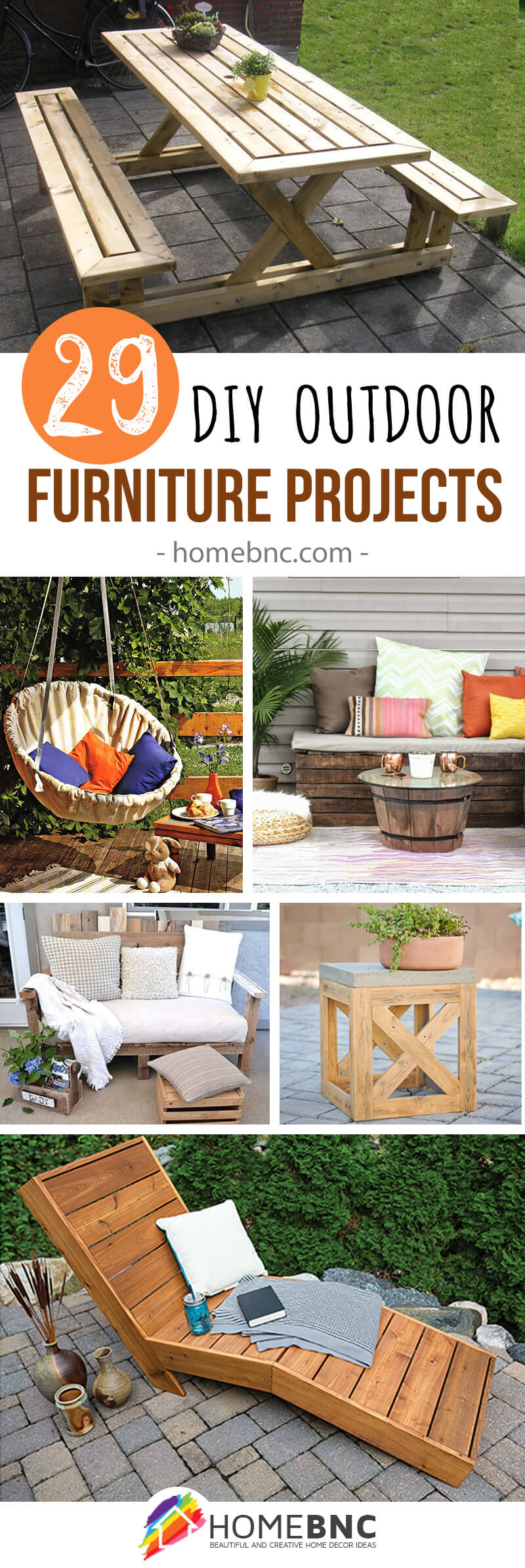 29 Repurposed Outdoor Furniture Projects To Spruce Up Your Space