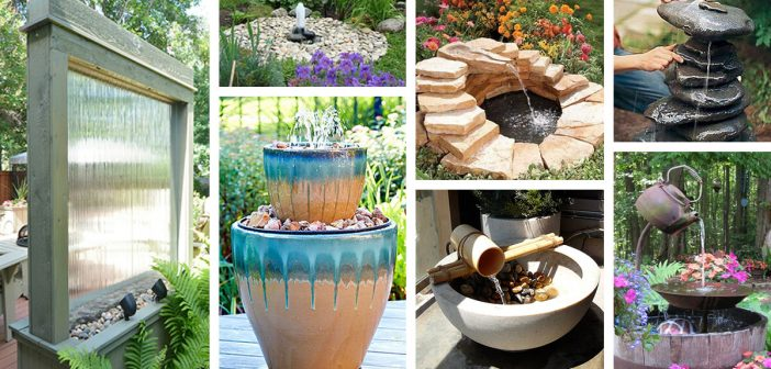 24 Best DIY Water Feature Ideas and Designs for 2018