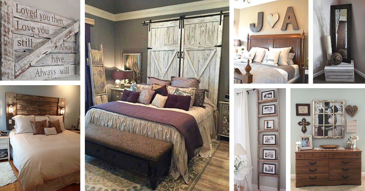 39 best farmhouse bedroom design and decor ideas for 2017 - Home decor ideas bedroom ...