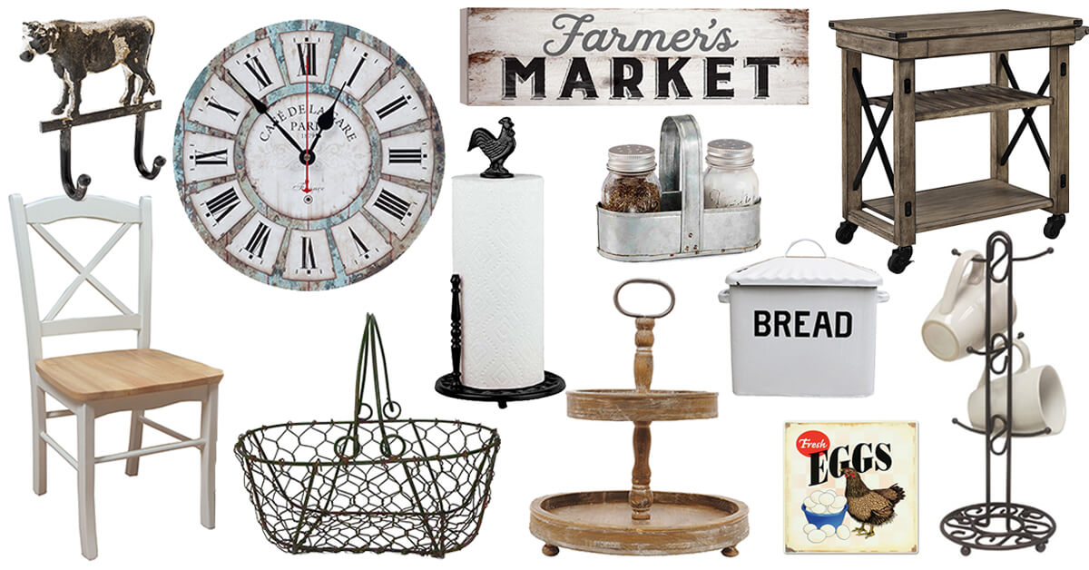 Bon The Best Farmhouse Kitchen Accessories To Buy In 2018
