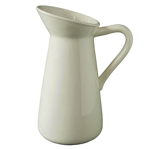 Hosley's White Ceramic Vase