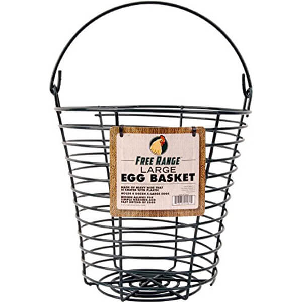 Coated Wire Egg Basket