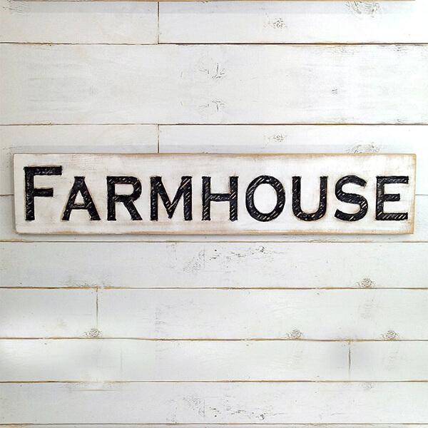 Rustic Farmhouse Style Sign