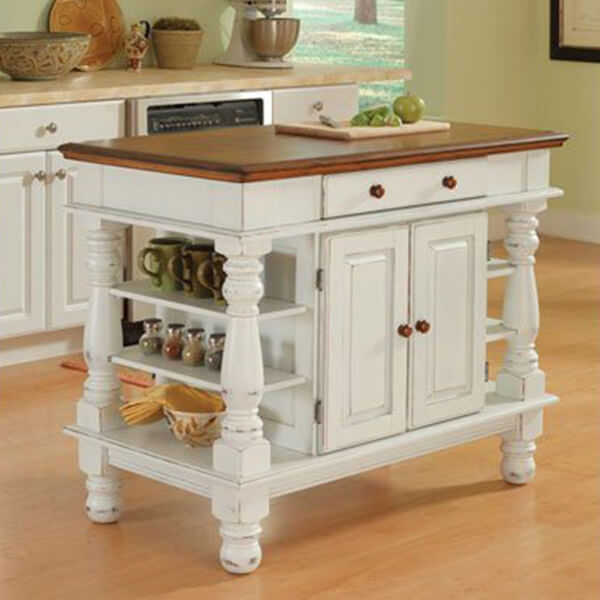 Americana Antique Kitchen Island