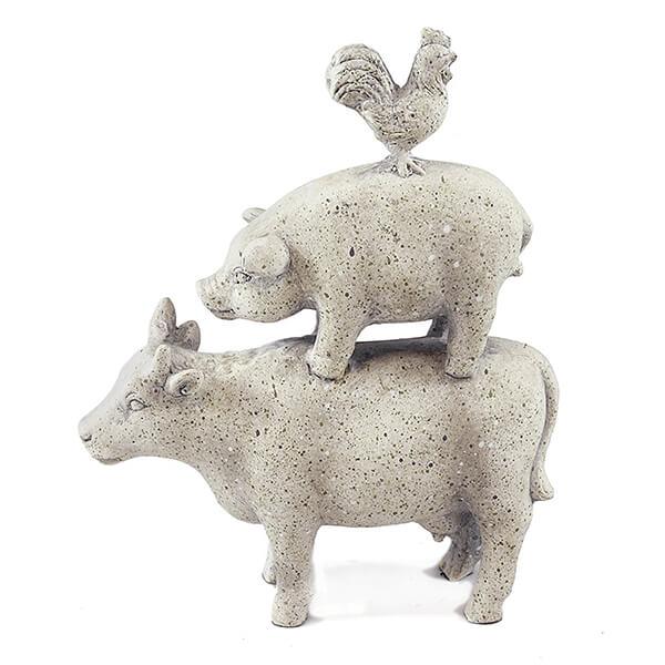 Stacked Decorative Figurine