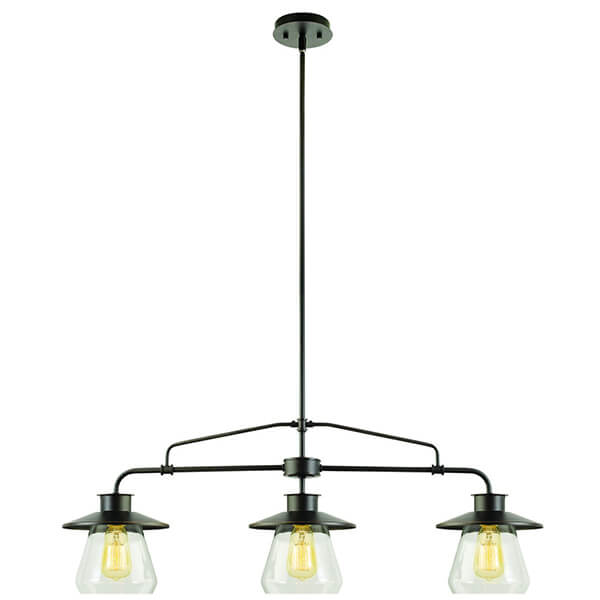 3-Light Vintage Pendant