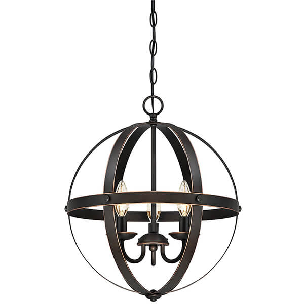 Stella Mira Three-Light Pendant