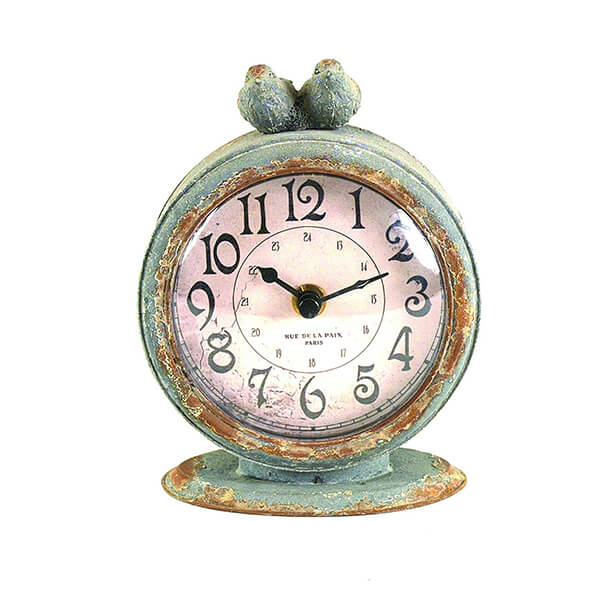 Table Clock with Bird