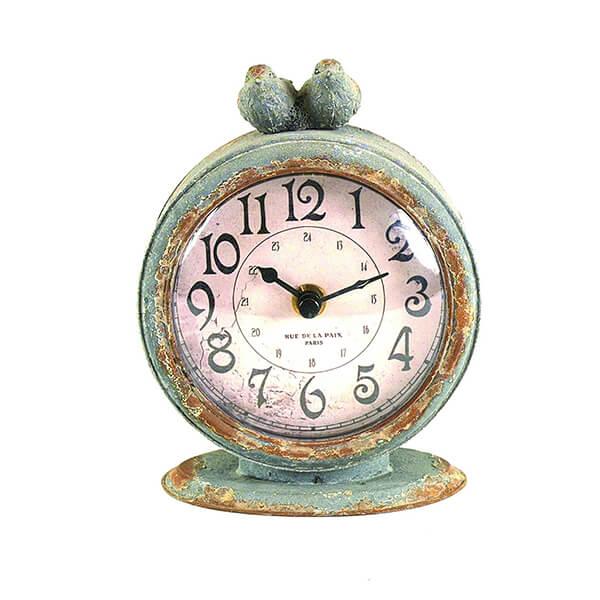 Table Clock with Bird