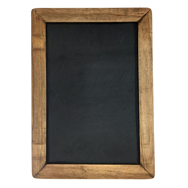 Vintage Framed Slate Kitchen Chalkboard