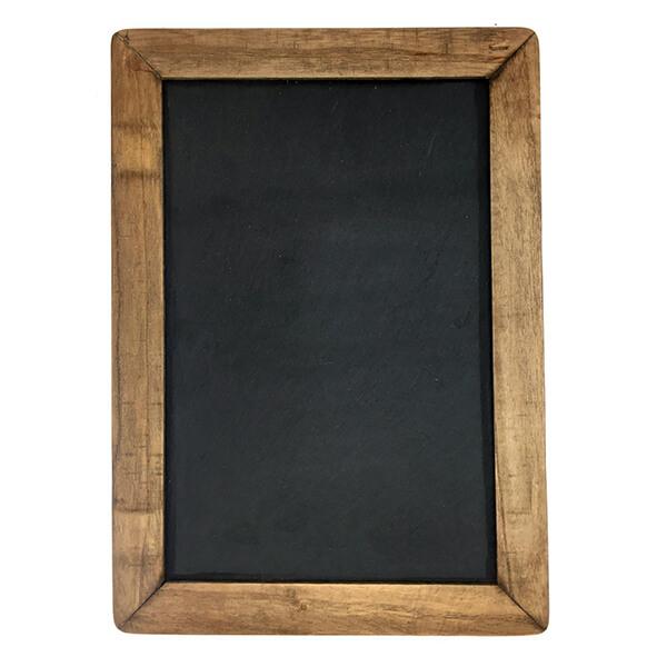 Vintage Framed Slate Kitchen Chalkboard