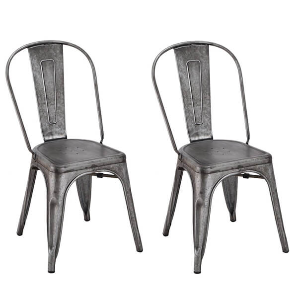 Chic Dining Bistro Cafe Side Chairs