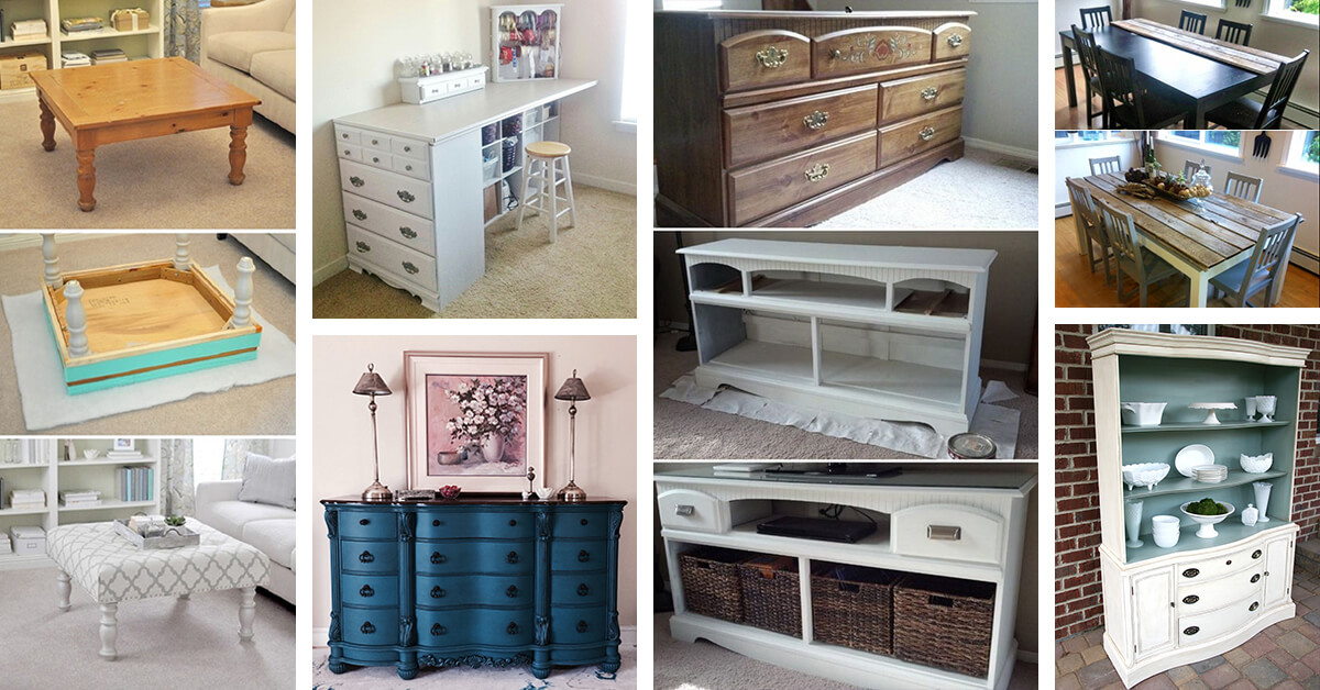 35 Best Furniture Makeover Ideas And Designs For 2020