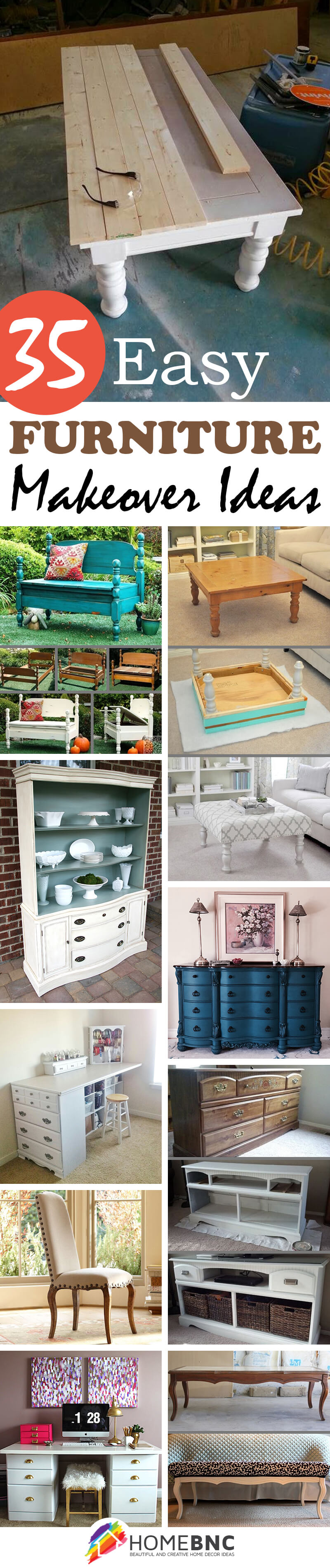 old furniture makeover. 35 Smart Furniture Makeover Ideas To Do This Summer Old